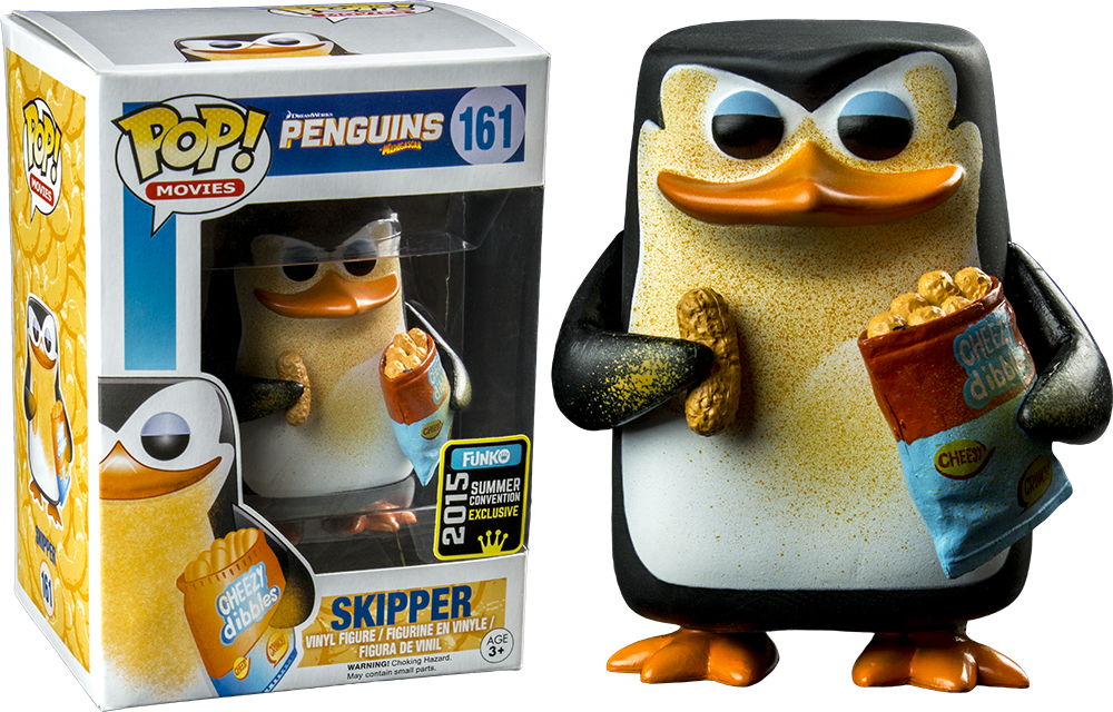Funko Pop! Skipper Cheezy - Pingüinos de madagascar