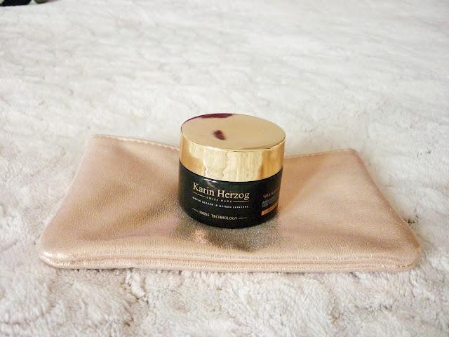 routine beauté de l'hiver - crème hydratante karin herzog
