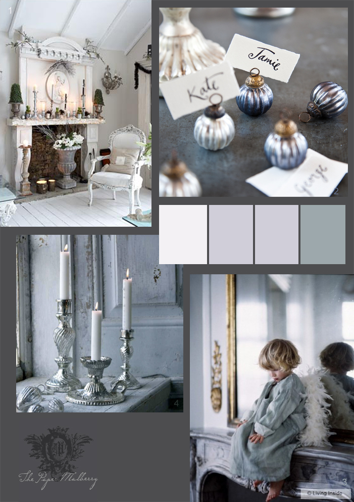 The paper mulberry christmas for Carter wells interior design agency