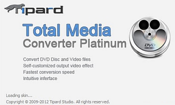Tipard Total Media Converter Platinum 6.2.18.15224
