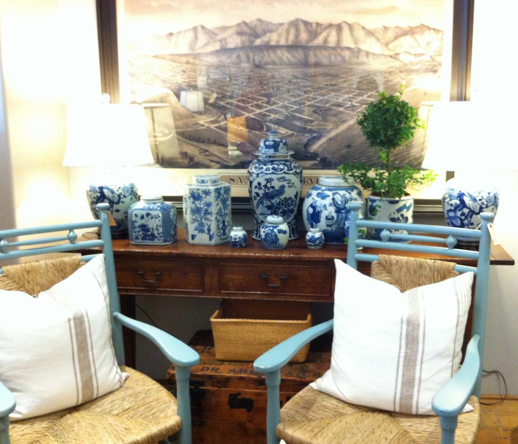 Portobello design new port cottage style designer for Rooms gardens