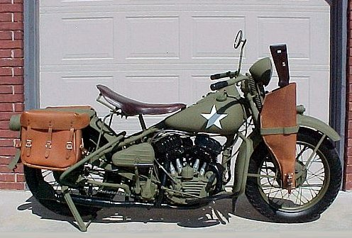 Harley-Davidson Military Motorcycle
