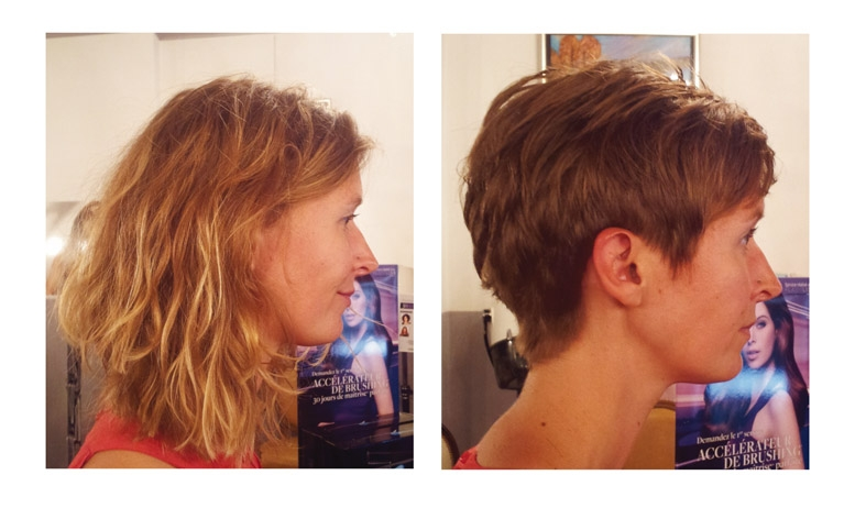nelly avant et aprs visite au studio 54 coiffure et couleur ralises par eddy - Meilleur Coloriste Montpellier