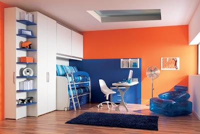 dormitorio niño colorido