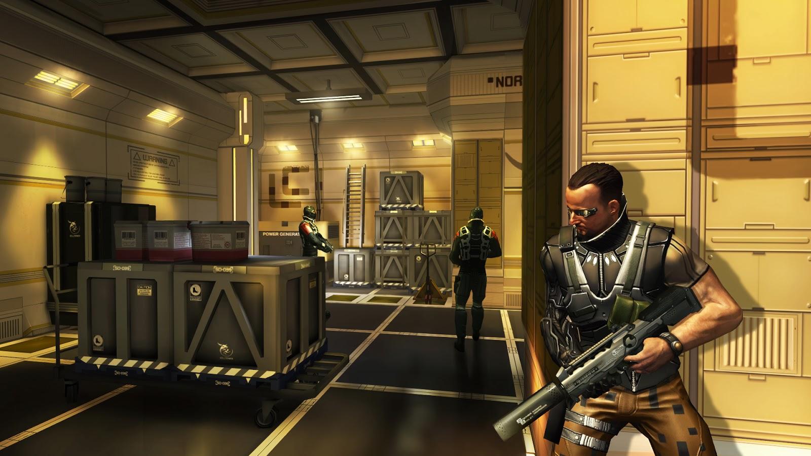 Deus Ex- The Fall Android FULL APK DATA İNDİR