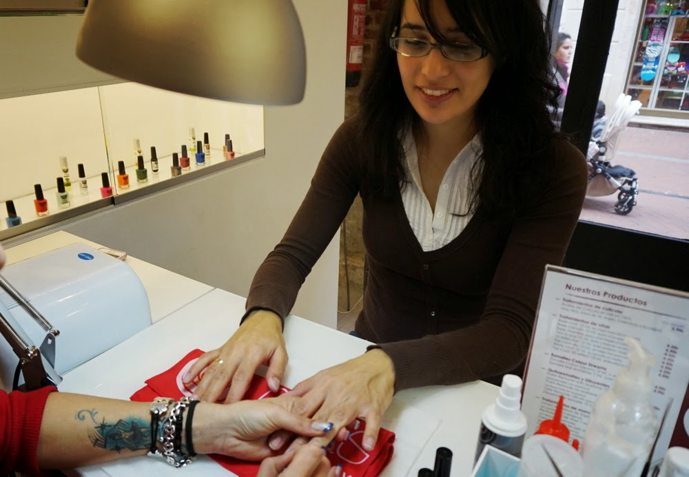 manicura francesa colores