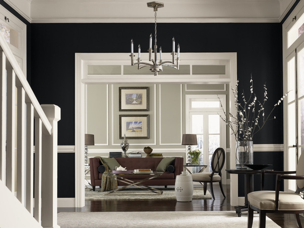 Using color easy by sherwin williams from hgtv furniture design - Hgtv living room paint colors ...