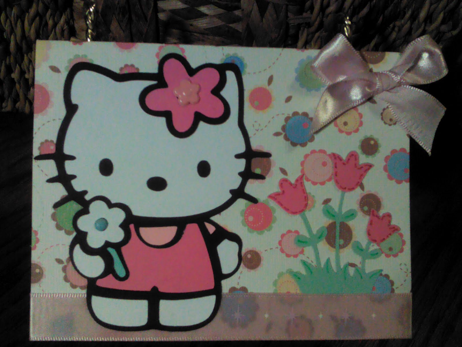Time lapse creations hello kitty birthday card products used cricut expressiongypsycreate a critter and hello kitty greetings cricut cartridges provo craft card base cannot remember manufacturer m4hsunfo