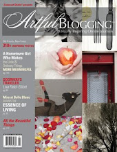 Featured in Artful Blogging Interview en ons huis in Artful Blogging