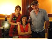 Con Laura Rodríguez y Miriam De Luca