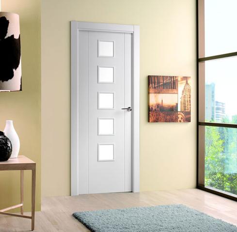 Puerta lacada mod 8200 serie lacadas proma artideco for Puerta 8500 proma