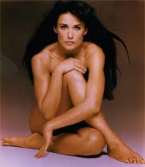 demi moore almost nude
