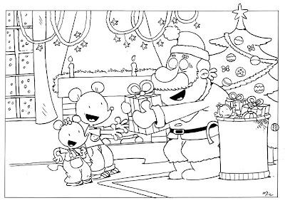 Coloriage Ludo Cp.Ecrire Avec Ludo Coloriage De Noel