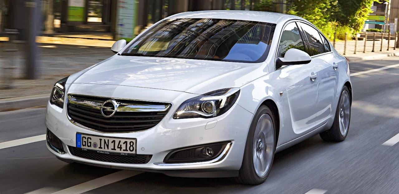 Makyajlı 2014 Opel Insignia
