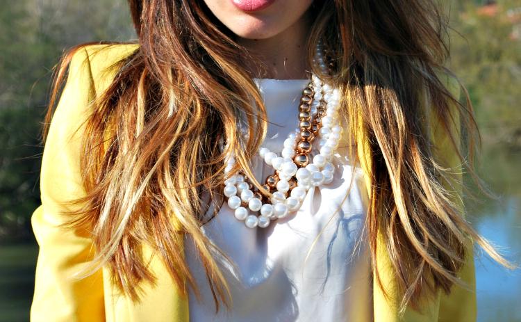 Blazer amarilla / Yellow blazer