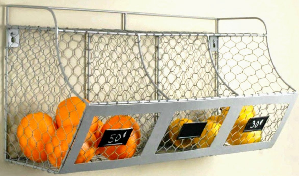 Deeauvil Organizing With Wire Baskets