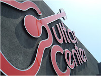 Guitar Center sign from Bobby Owsinski's Big Picture production blog
