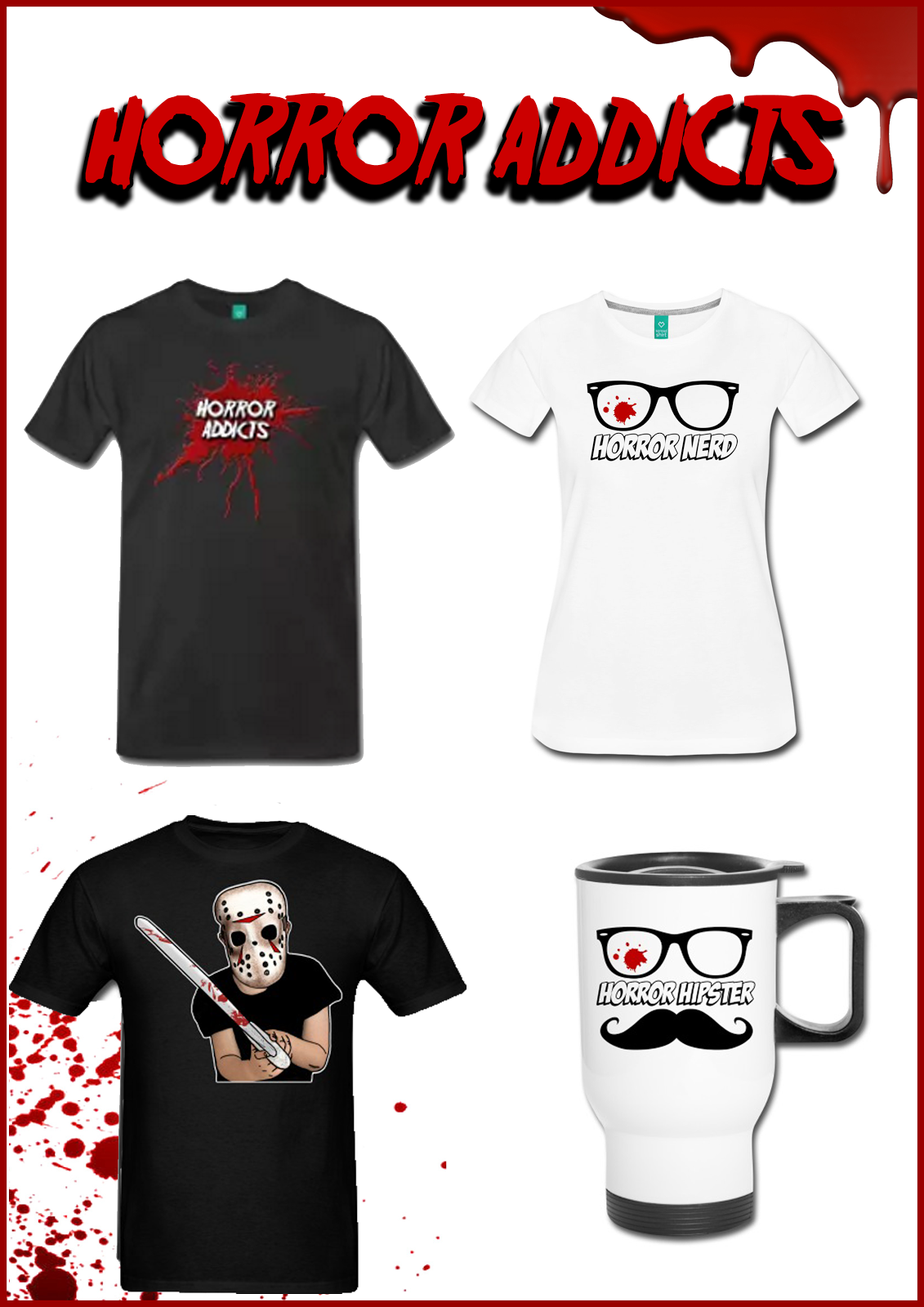 HORROR ADDICTS Merch