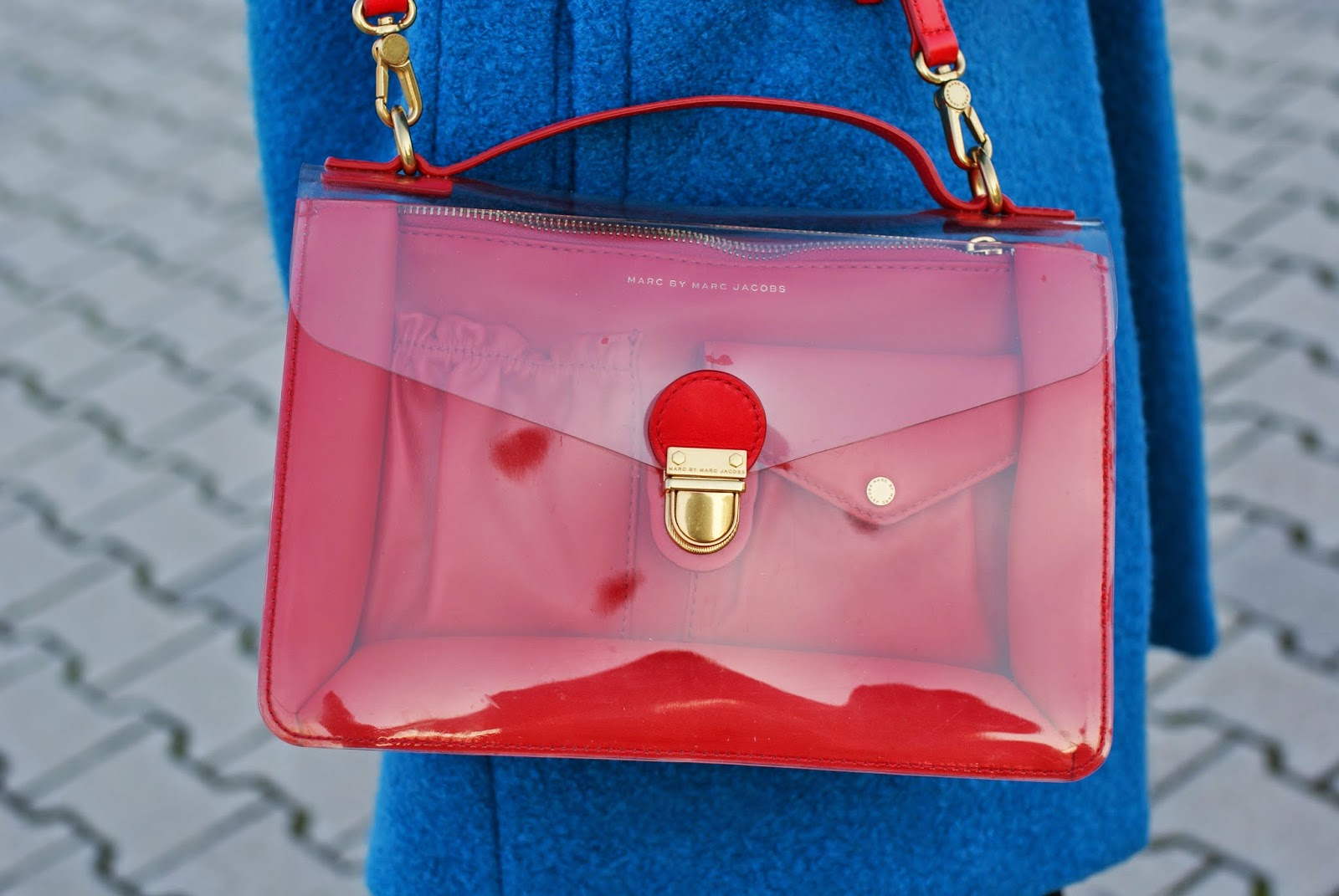 Marc by Marc Jacobs clearly bag on Fashion and Cookies fashion blog