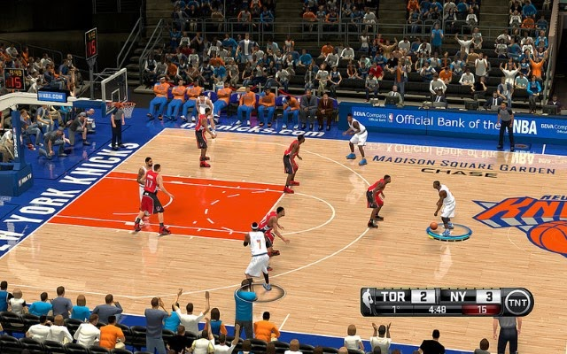 Knicks HD Court | NBA 2K14 PC Mod