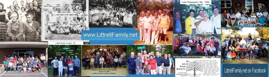 Littrell Family News:
