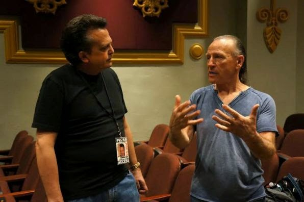 Ray Shasho chats with Mark Farner before the show