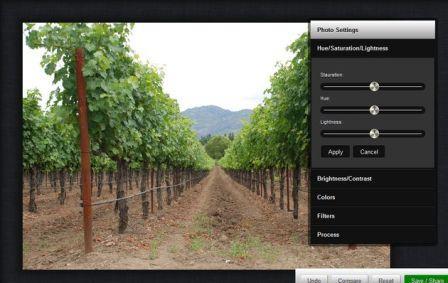 Aplicacion para editar imagenes en la web, Enthread
