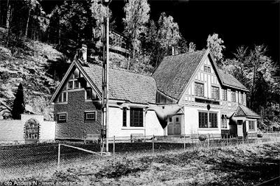 hultafors, station, järnvägsstation, järnväg, borås, västergötland, sverige, railroad station, swedish, foto anders n