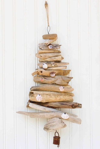 driftwood mobile tree