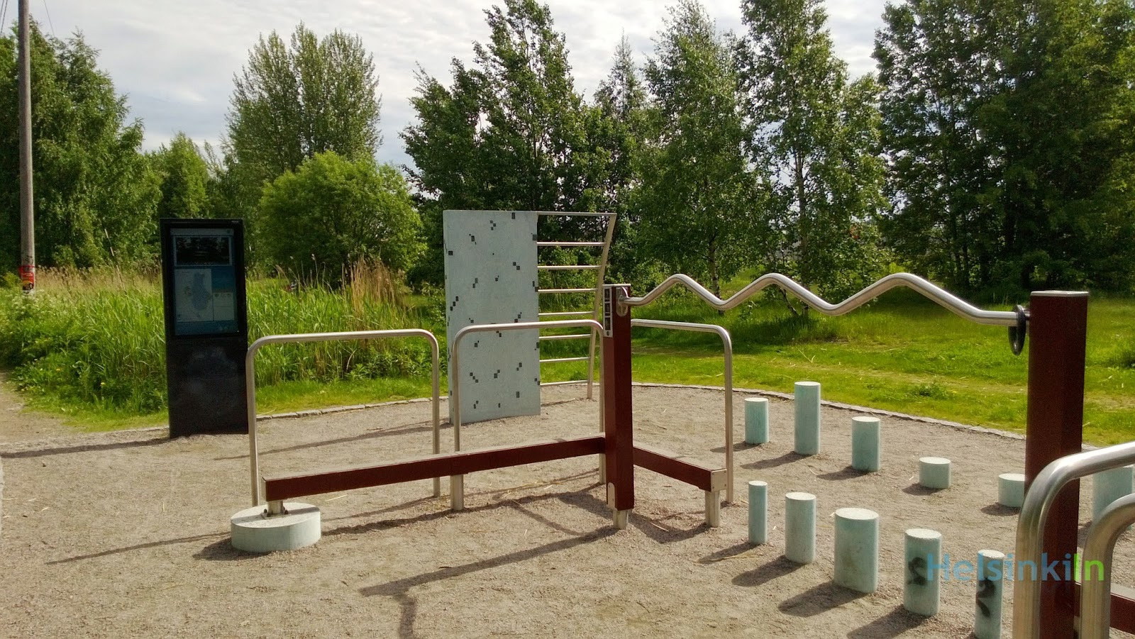 free outdoor gym in Helsinki