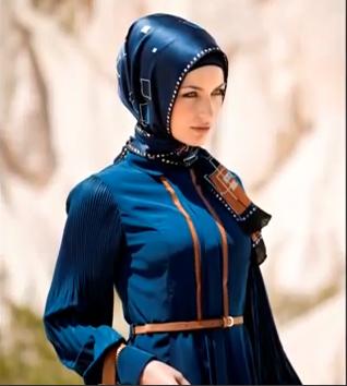 New Turkish Hijab Style 2013 Video-My Hijab And my Fashion