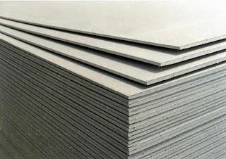 Macam macam pelbagai jenis siling bayani home renovation for Gypsum board asbestos