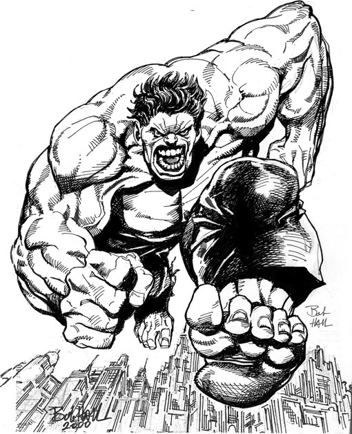 spider hulk coloring pages - photo#26