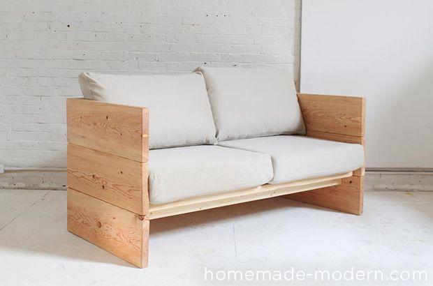 A Membuat Sendiri Sofa Kotak Dari Bahan Multiplex Papan