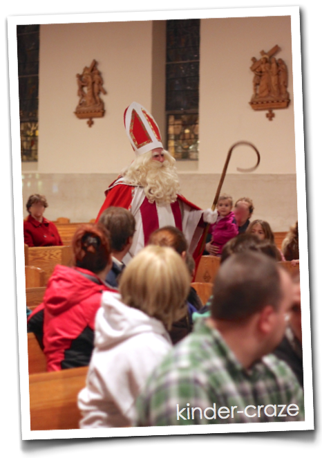 a real, live visit from St. Nicholas
