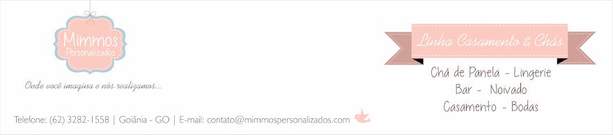 Mimmos Personalizados - Linha Casamento & Chás
