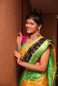 Sangeetha Kamath dazzling saree photos-thumbnail-17