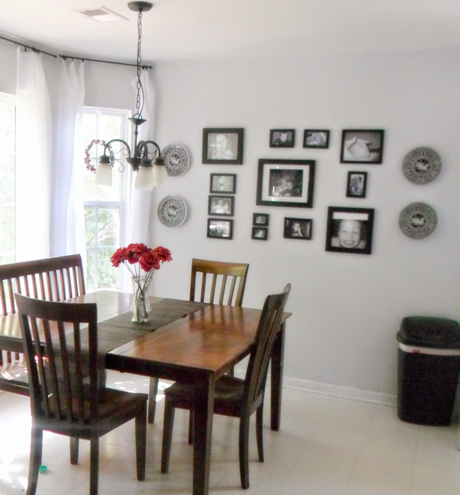 Home Heart And Hands: Black And White Gallery Wall