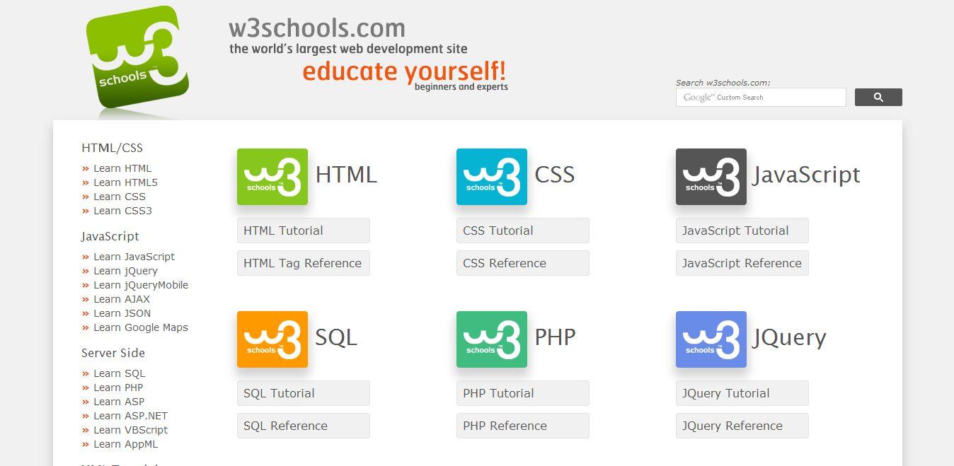 5 Situs Terbaik untuk Pemula Dan Lanjutan Belajar Coding Gratis | HTML, CSS, Javascript, PHP, JQuery, dan SQL  5 Situs Terbaik untuk Pemula Dan Lanjutan Belajar Coding Gratis | HTML, CSS, Javascript, PHP, JQuery, dan SQL  1
