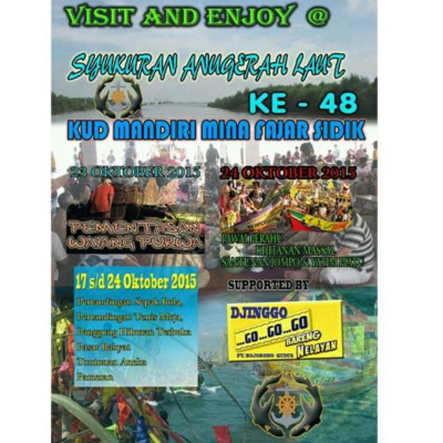 Acara Ruwat Laut Blanakan Subang