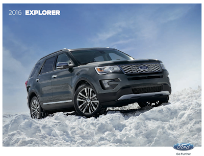 Downloadable 2016 Ford Explorer Brochure