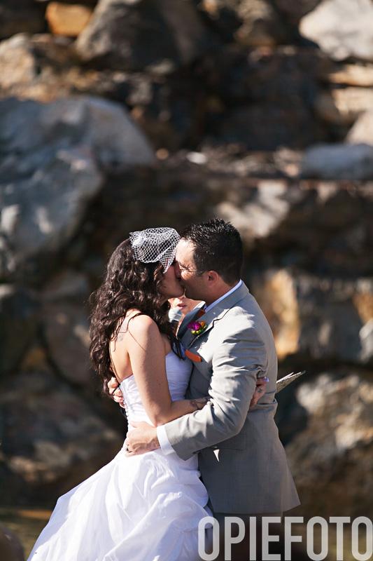 millennial falls wedding photo