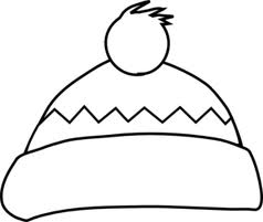 Winter Scene Coloring Pages Free