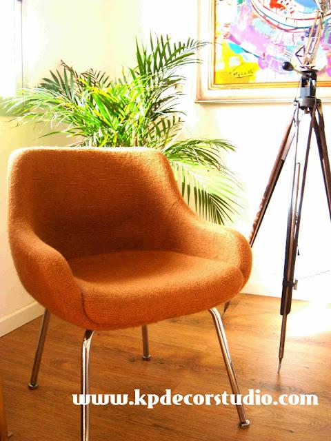 Silla vintage original extravagante de colores, antigua, estilo, pop, sillones retro, tienda online decoración valencia, muebles baratos