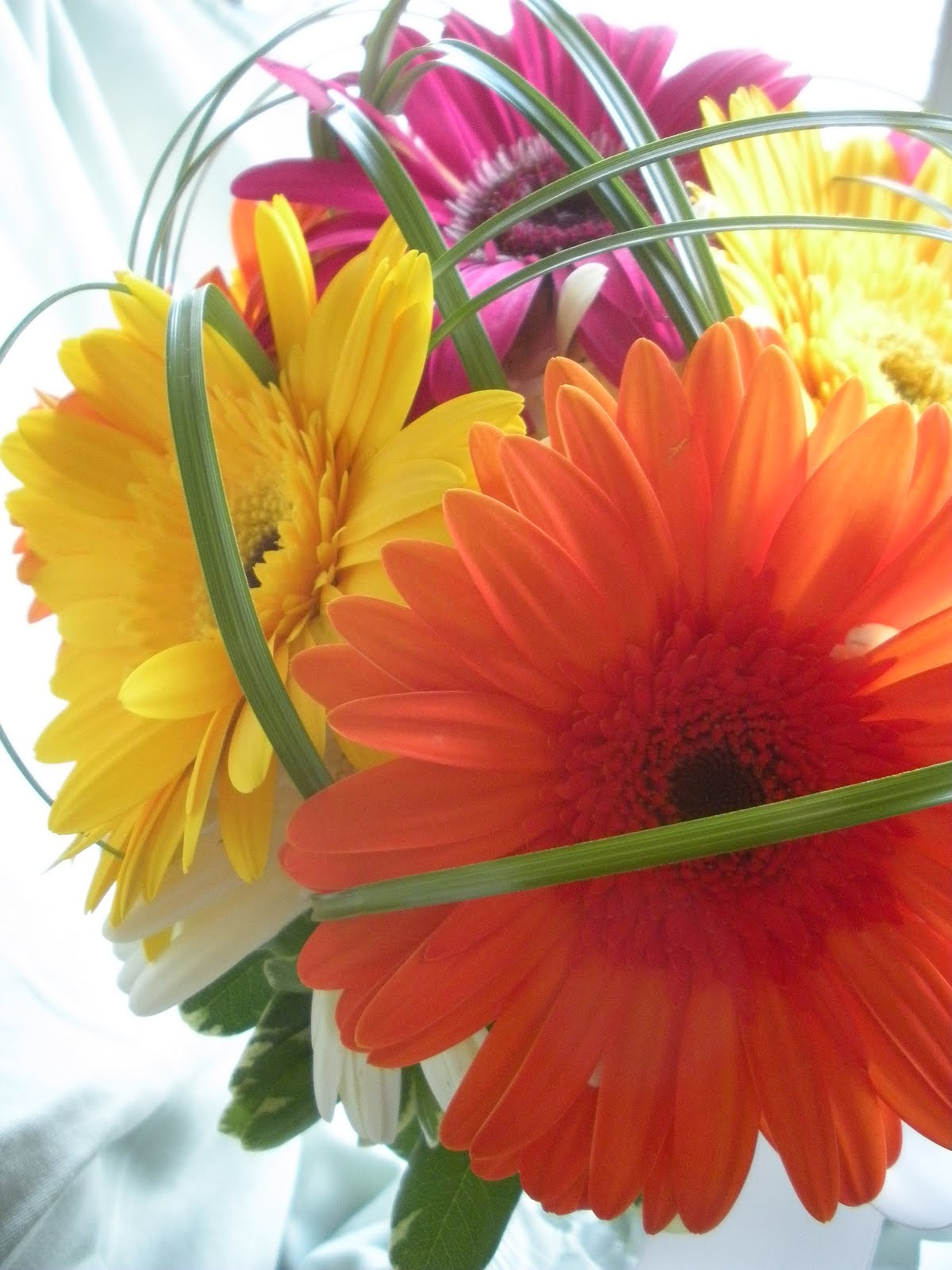 Jennifer Joyce Design Gerbera Daisy Bouquet