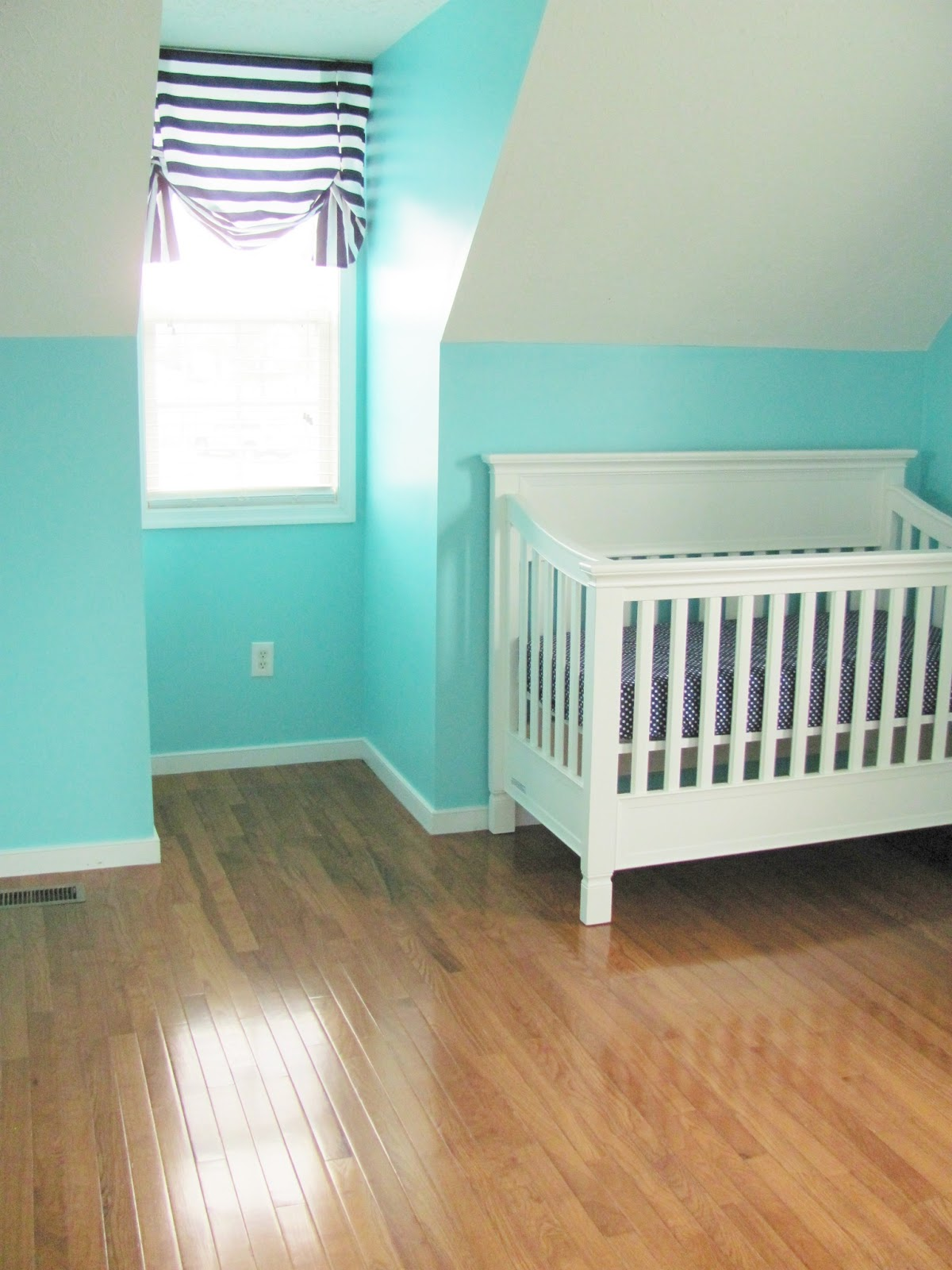 Hardwood Floors And Getting Crafty In The Nursery