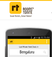 (Live) Roomstonite App : Book Hotels for Rs.1 : Buytoearn