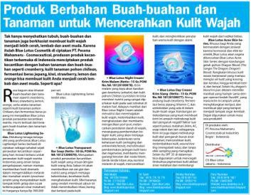 Tabloit Info Kecantikan tanggal 27 April 2012