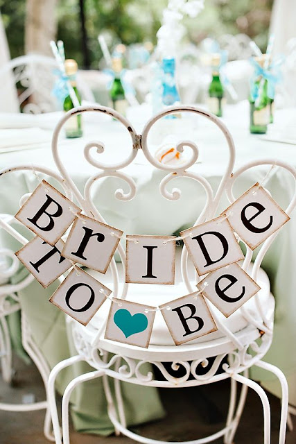 bride to be chair banner