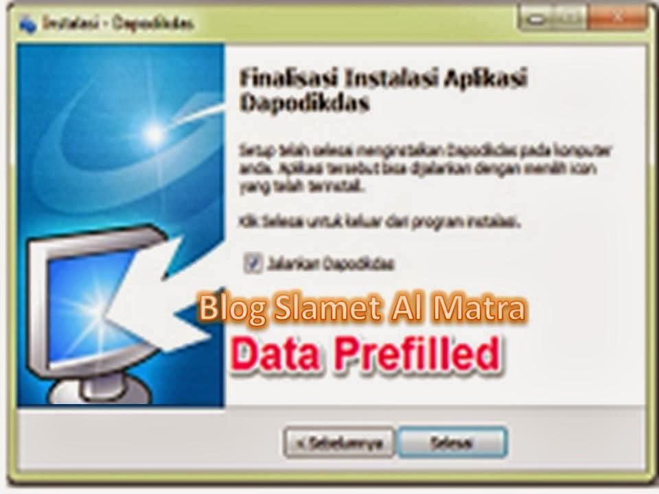 Cara Instal Dapodikdas Dengan Data Prefill